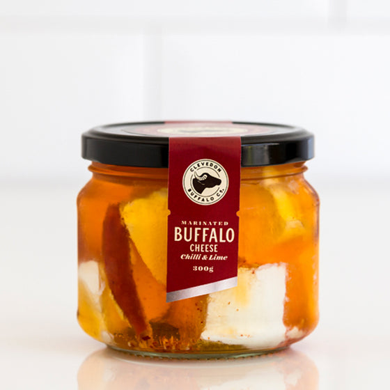 Marinated Buffalo Cheese - Chilli & Lime
