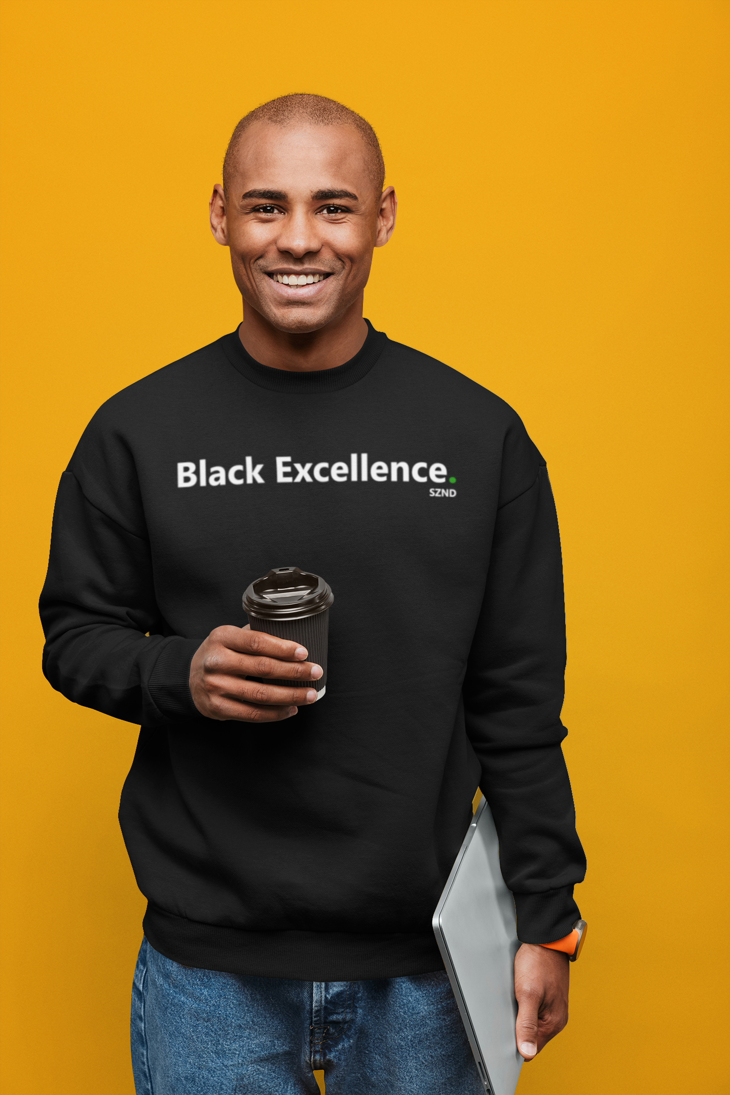Black Excellence Jumper