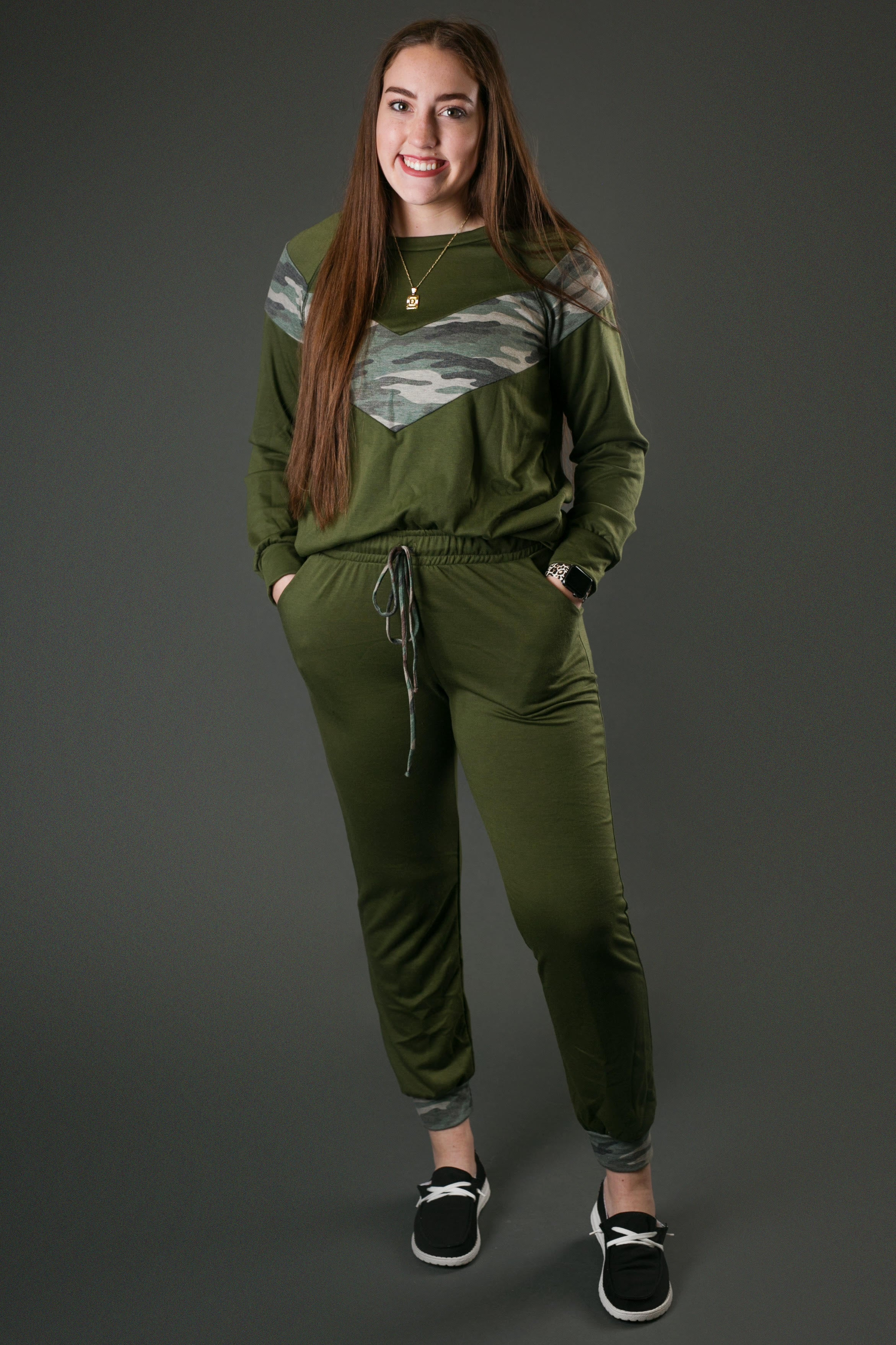 image of a sweatsuit set from Gia Rose