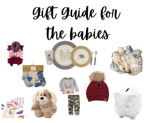 gift guide for babies main image