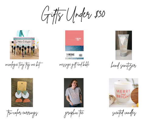 top 10 gifts under 30