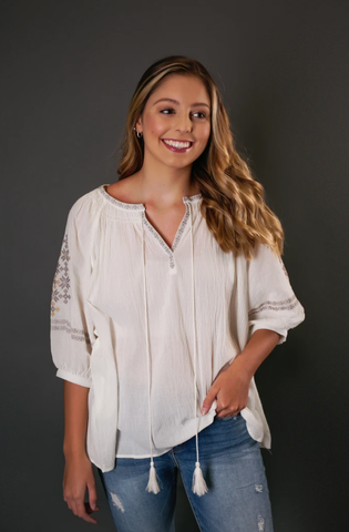 loose fit top, gia rose, gia rose boutique