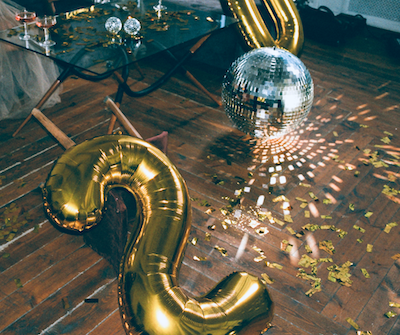 Getting a fresh start on New Year's...this is an image of a celebration to kick it off.