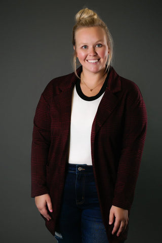 Everyone woman should have a nice blazer like the one pictured here.
