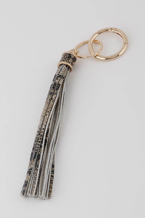 Animal Tassel Key Chain