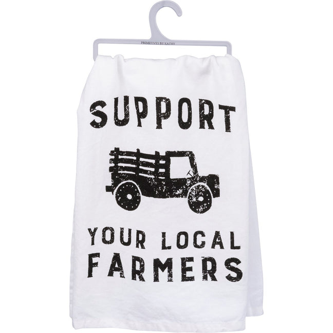 Support Your Local Farmer Towel