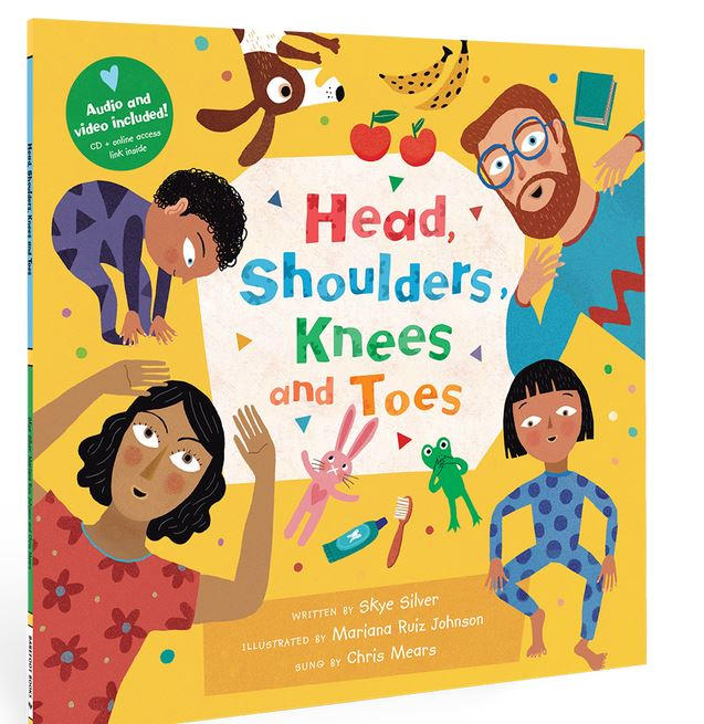 Head Shoulders Knees & Toes Book