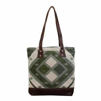 MYRA | Checkered Tote Bag