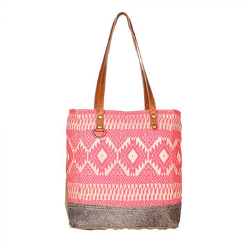 MYRA | Pink Blessings Tote Bag