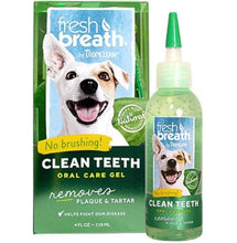 Load image into Gallery viewer, Tropiclean Fresh Breath Clean Teeth Gel - 118ml - 30% OFF TODAY