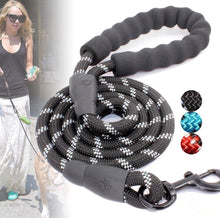 Load image into Gallery viewer, Reflective Nylon Pet Dog Training Walking Leash