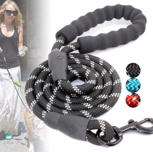 Reflective Nylon Pet Dog Training Walking Leash
