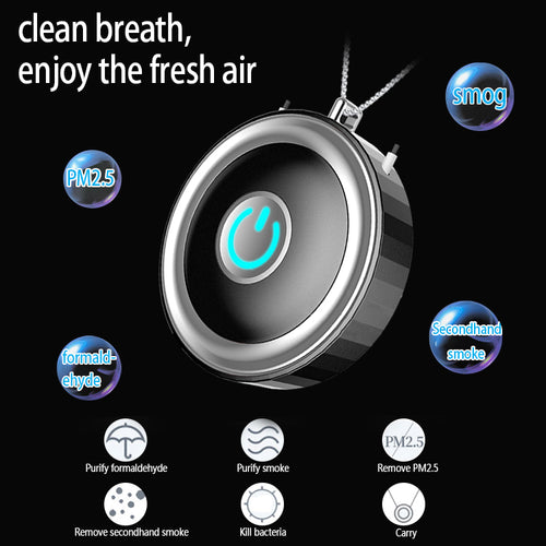 Portable Wearable Air Purifier - 50% OFF TODAY