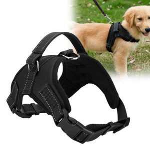 Soft, No Pull and Comfortable Heavy Duty Nylon Dog Harness - 30% OFF TODAY