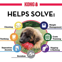 Load image into Gallery viewer, KONG - Classic Dog Toy - Durable Natural Rubber - Fun to Chew, Chase and Fetch