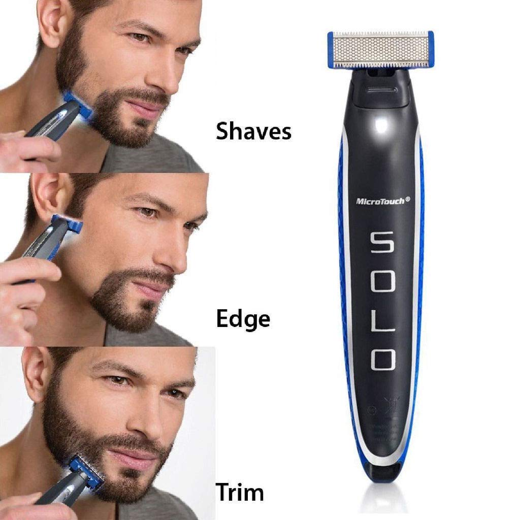 Micro Touch SOLO Rechargeable Full Body Trimmer and Shaver