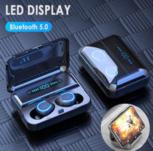 Load image into Gallery viewer, GREAT DEAL! TWS BT Earbuds with LED Digital Power Display Charging Case / Powerbank / Phone Holder