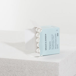 Organic Cotton Non-Applicator Tampons
