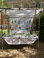 The Tryphena Glass stall at All Saints Gardens in Cambridge