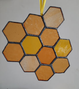 Stained Glass Honeycomb