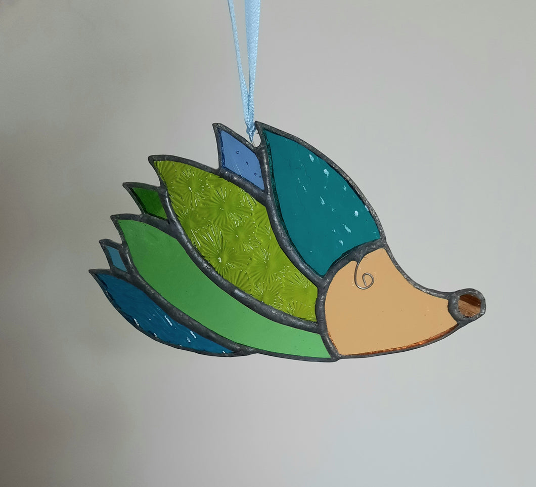 Stained Glass Hedgehog