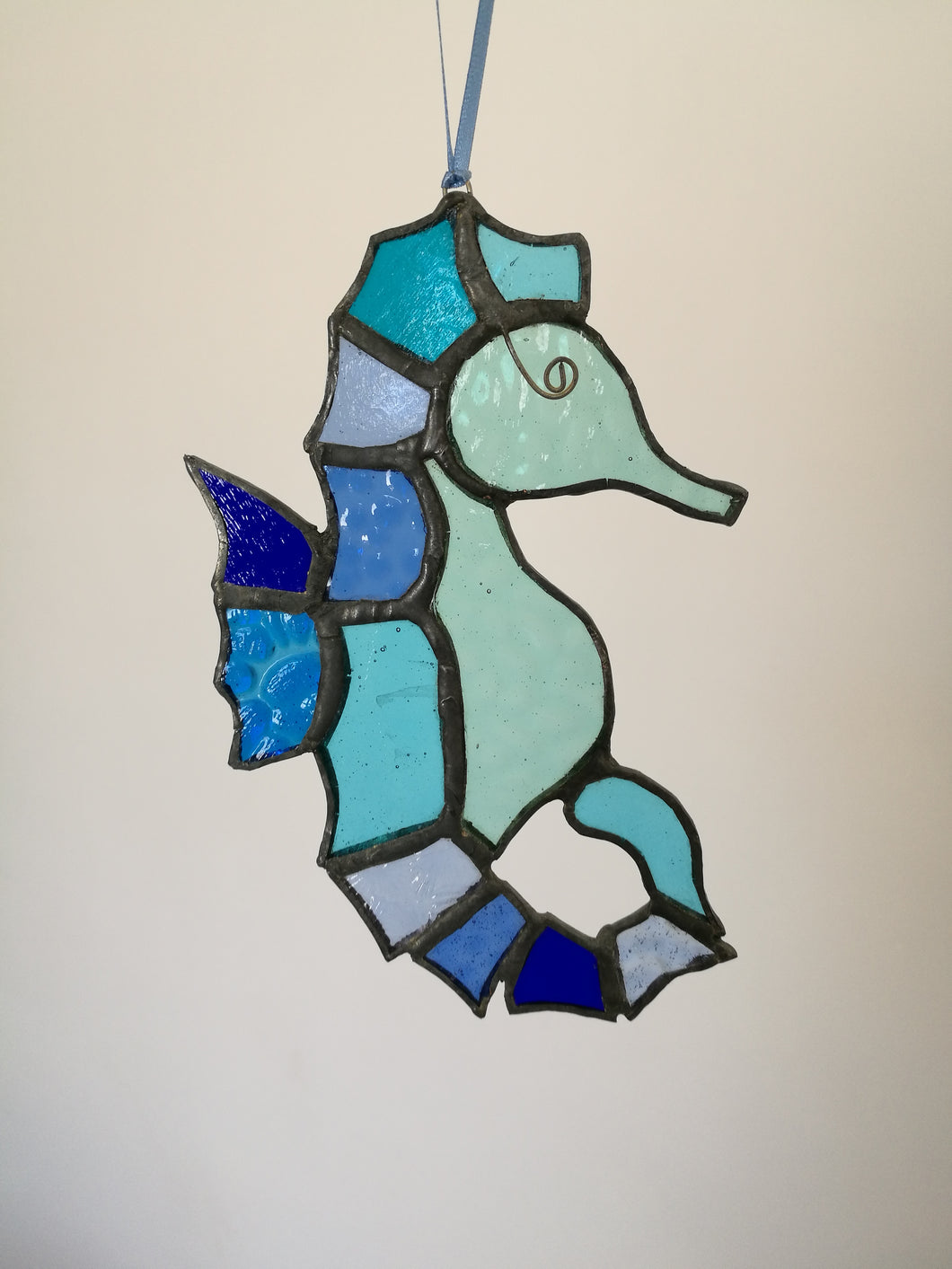 Stained Glass Seahorse