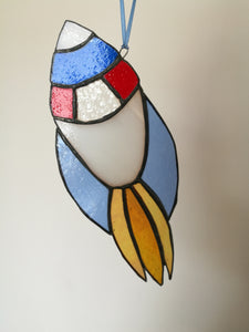 Stained Glass Rocket