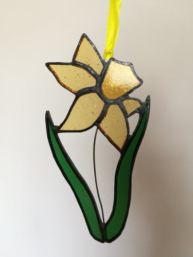 Stained Glass Daffodil