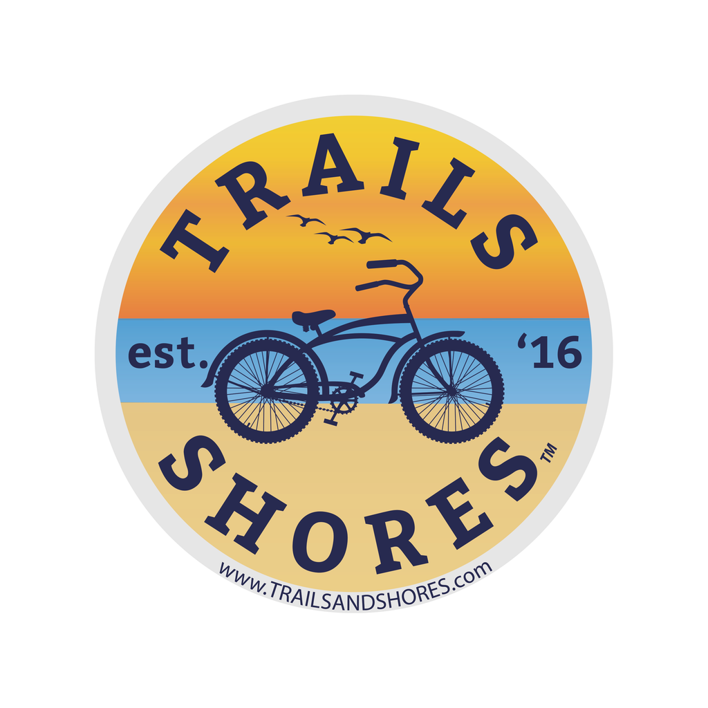 Beach Cruiser Sticker