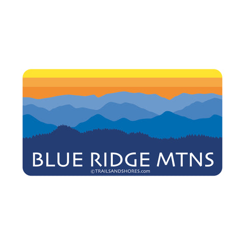 Blue Ridge Mountains Sticker