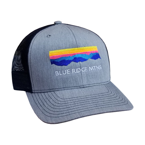 Blue Ridge Mtns Trucker (grey)