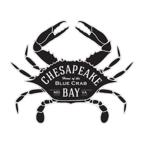 Chesapeake Bay Crab Sticker
