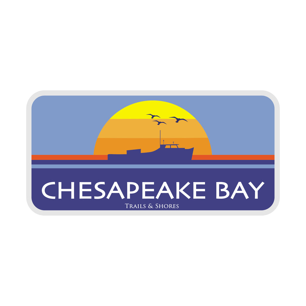 Chesapeake Bay Sunrise Sticker
