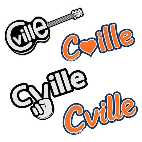 Cville Stickers