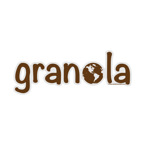 Granola Sticker