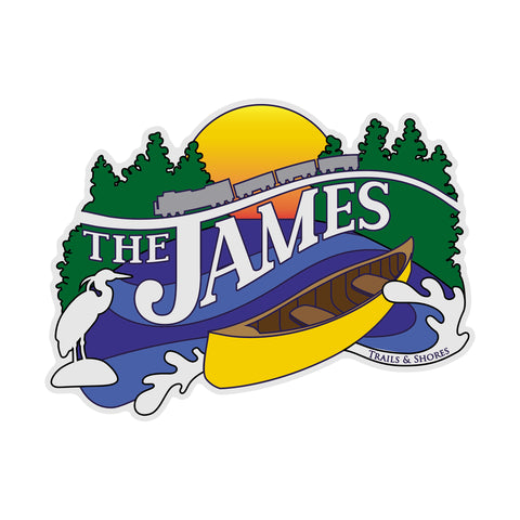 James River Sticker
