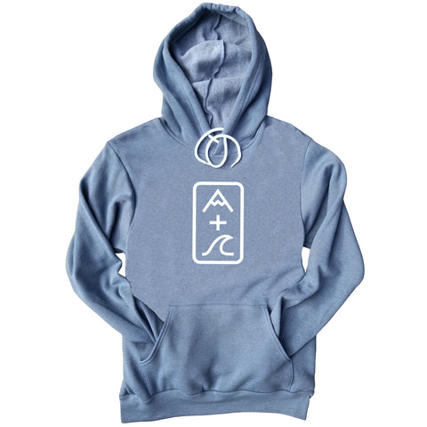 Mountain Plus Wave Hoodie