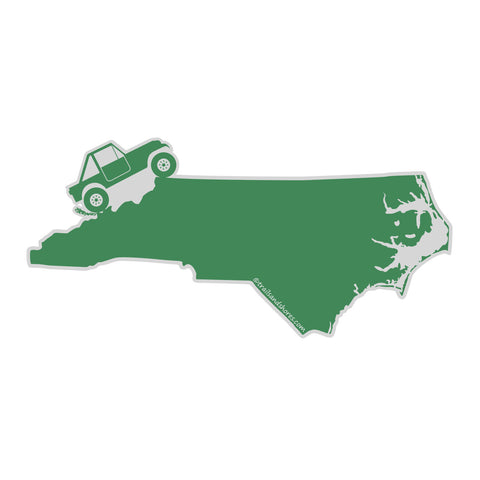 North Carolina 4x4 Sticker