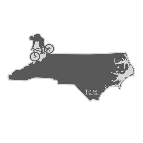 North Carolina Mountain Biker Sticker
