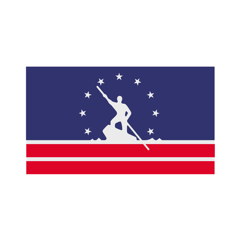 Richmond, Va Flag Sticker