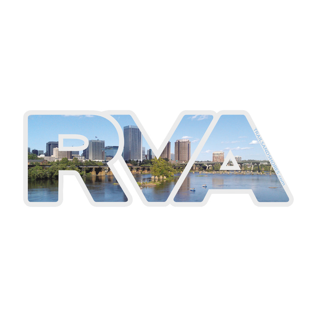 RVA Skyline Sticker