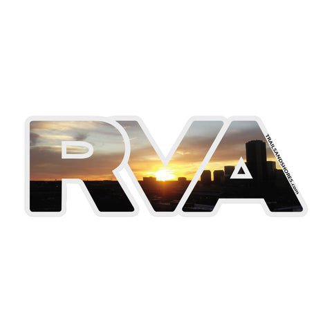 RVA Sunset Sticker