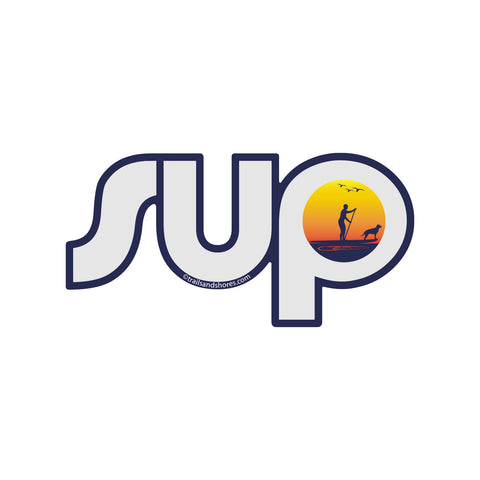 SUP Sunset Sticker
