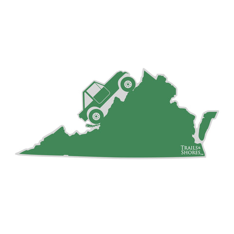 Virginia 4x4 Sticker