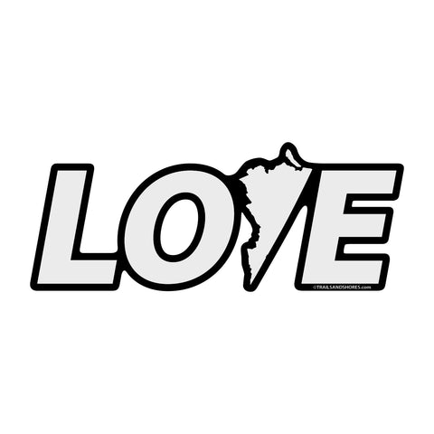 Virginia Love Sticker