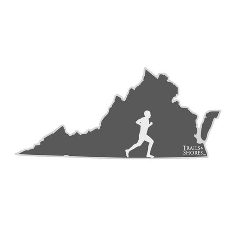 Virginia Runner Sticker (male)