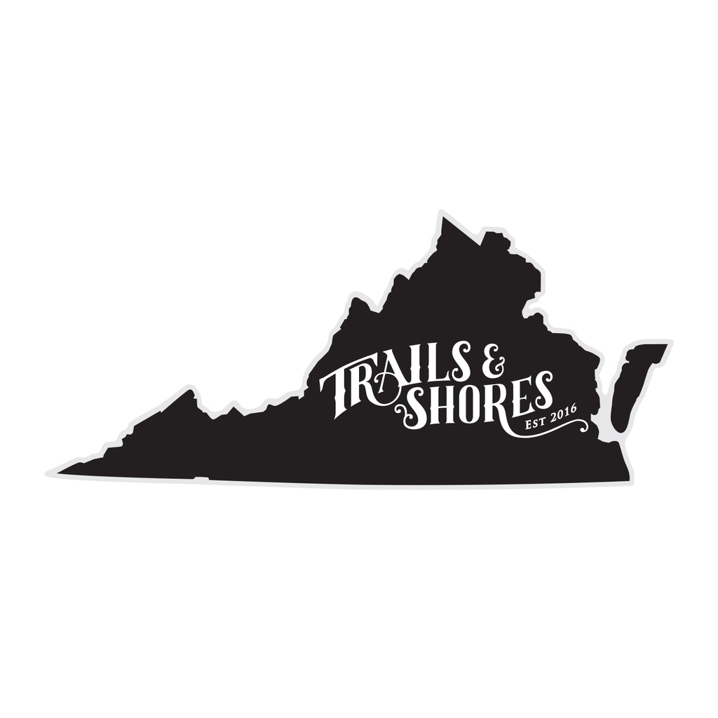 Virginia T&S Sticker