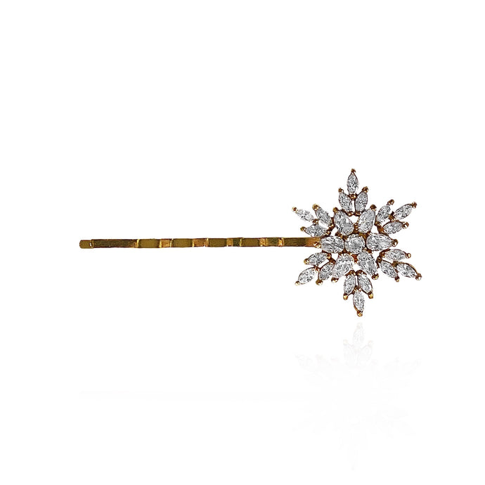 Carol Snowflake Hair Pin