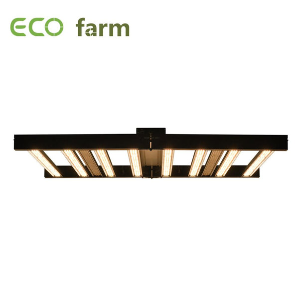 ECO Farm 740W Vollspektrum Slim Faltbare LED Grow Light mit Sperately UV + IR Control großer Rabatt