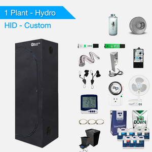 HID/T5 Hydro Komplette Growsets für 1 Pflanze